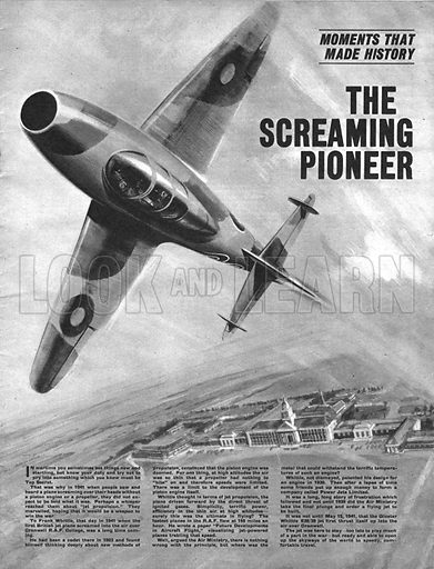 Moments That Made History: The Screaming Pioneer -- the jet engine, developed by Frank Whittle during the Second World War.