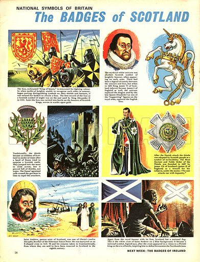 National Symbols of Britain: The Badges of Scotland.