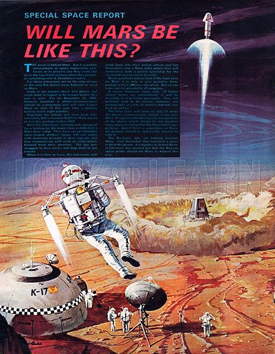 Will Mars Be Like This.