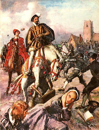 The Wonderful Story of France: Tragedy on St. Bartholomew's Day, 1572.
