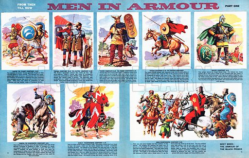 From Then Till Now: Men in Armour.