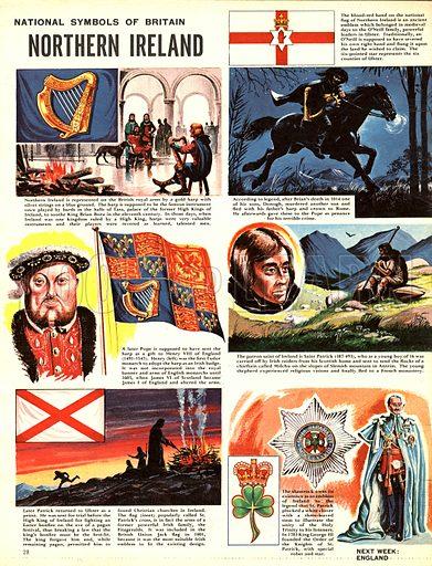 National Symbols of Britain: Northern Ireland.
