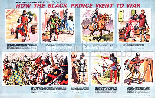 From Then Till Now: Men in Armour -- How the Black Prince Went to War.