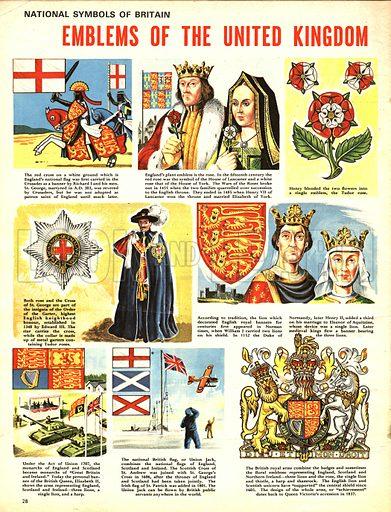 National Symbols of Britain: Emblems of the United Kingdom.