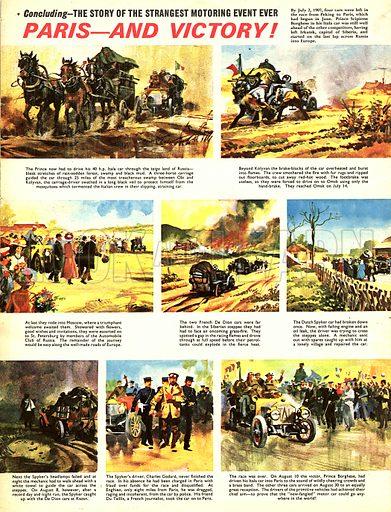 The Ten Thousand Mile Motor Race.
