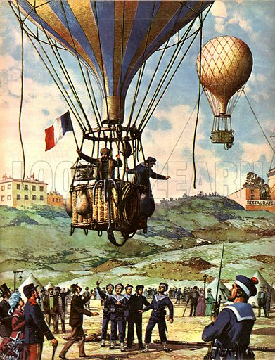 The Wonderful Story of France: Paris is Besieged -- the German's were beseiging Paris in 1870 and the people starving when a daring plan was hit upon to contact other cities.