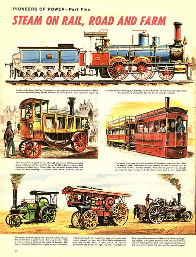 Pioneers of Power: Steam on Rail, Road and Farm.
