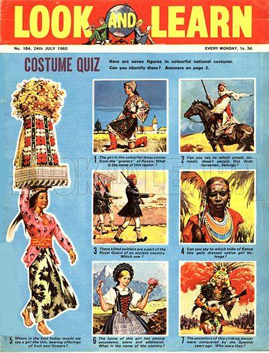 Picture Quiz -- Costume Quiz.