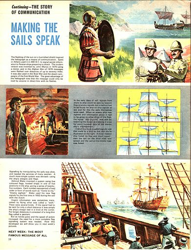 The Story of Communication: Making the Sails Speak -- development of communication between ships.