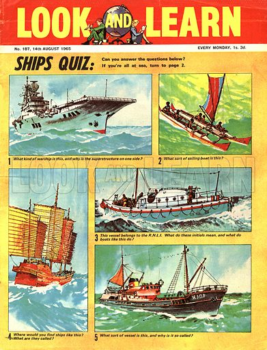 Picture Quiz -- Ships Quiz.