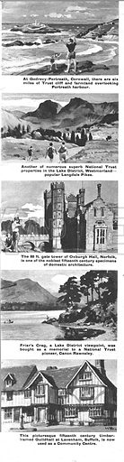 From Then Till Now: The National Trust -- the story of a great effort to preserve the beauties of the British Isles.