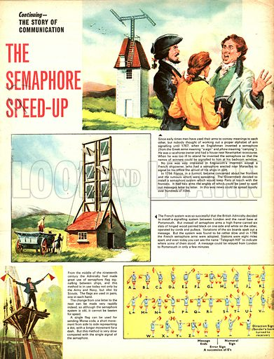 The Story of Communicationi: The Semaphore Speed-Up.