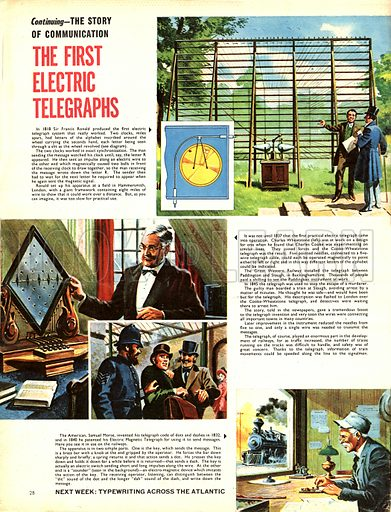 The Story of Communication: The First Electric Telegraphs.