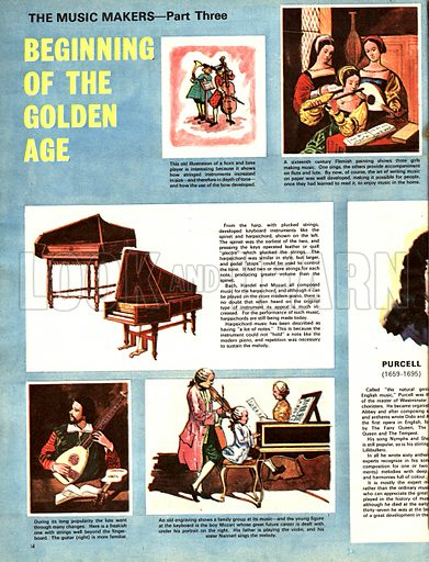 The Music Makers: Beginning of the Golden Age.