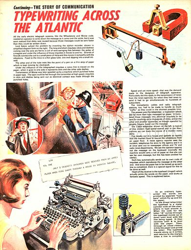 The Story of Communication: Typewriting Across the Atlantic.