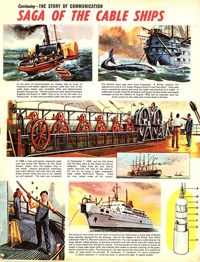 The Story of Communication: Saga of the Cable Ships.