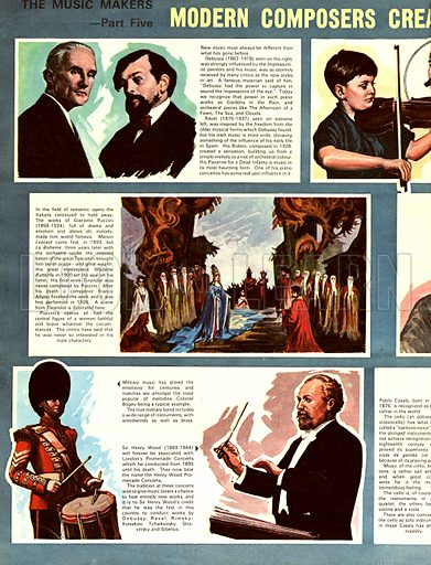 The Music Makers: Modern Composers Create a Storm.