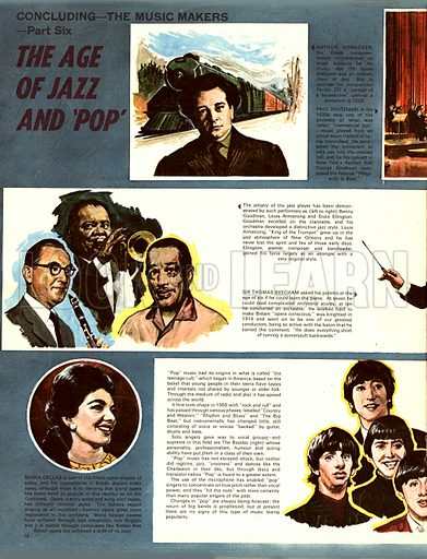 The Music Makers: The Age of Jazz and Pop.