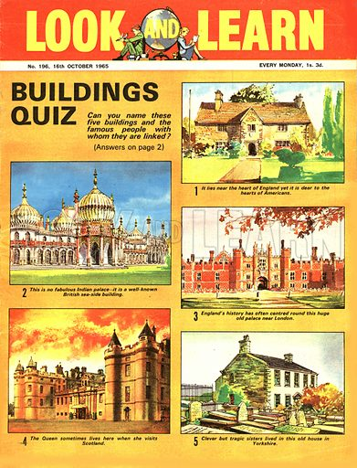 Picture Quiz: Buildings.
