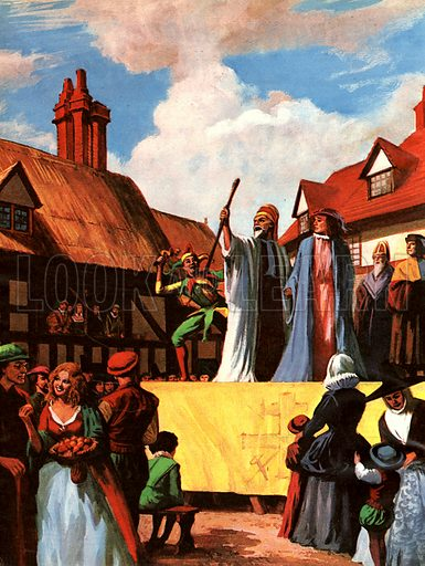 The Romance of the English Theatre: The Days Before Shakespeare.