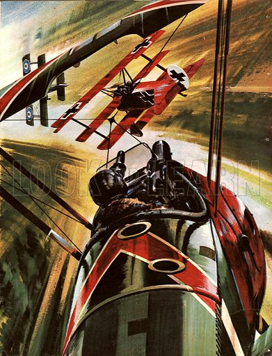 Famous Aircraft and Their Pilots: The Fokker Dr. 1 -- The Red Baron.