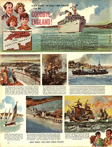 The Briggs Family Emigrate: Goodbye England!.