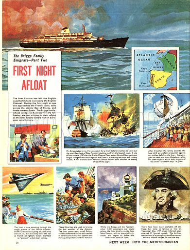 The Briggs Family Emigrate: First Night Afloat.