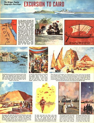 The Briggs Family Emigrate: Excursion to Cairo.