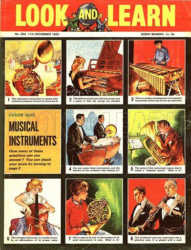 Picture Quiz -- Musical Instruments.