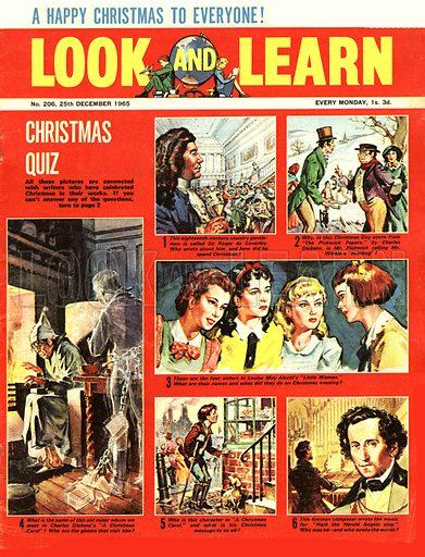 Picture Quiz -- Christmas Quiz.