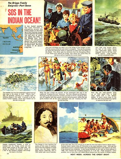 The Briggs Family Emigrate: SOS in the Indian Ocean!.