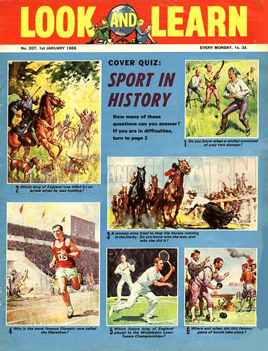 Picture Quiz -- Sport in History.