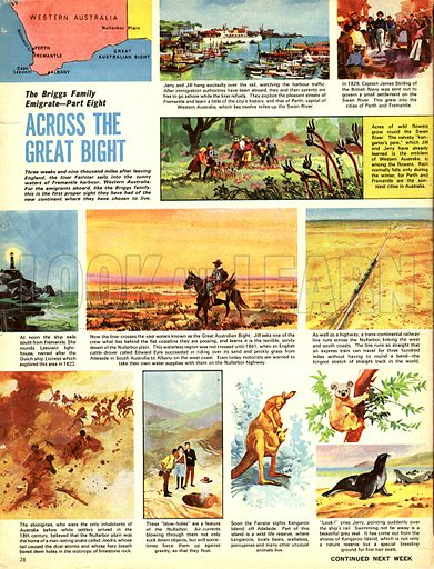 The Briggs Family Emigrate: Across the Great Bight.