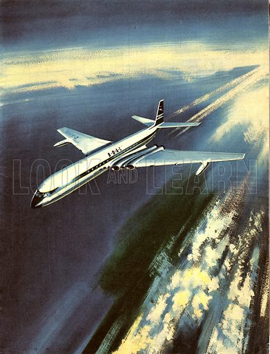 Famous Aircraft and Their Pilots: de Havilland D.H. 106 Comet -- Group Captain John Cunningham.