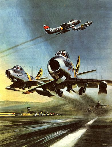 Famous Aircraft and Their Pilots: The North American F-86 Sabre – Captain Joseph McConnell, Jr.