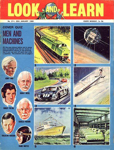 Picture Quiz -- Men and Machines.