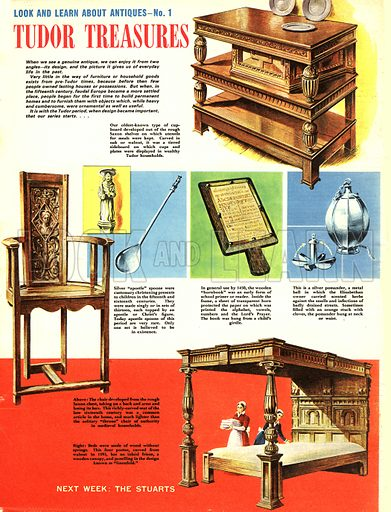 Look and Learn About Antiques: Tudor Treasures.