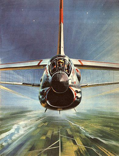F8U Crusader, picture, image, illustration