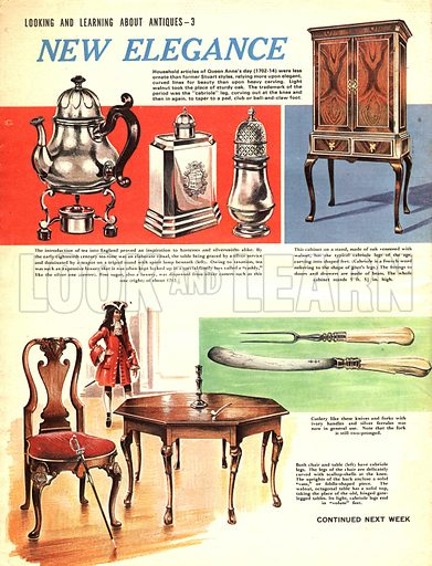 Look and Learn About Antiques: New Elegance.