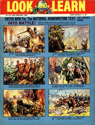 Picture Quiz -- Into Battle.