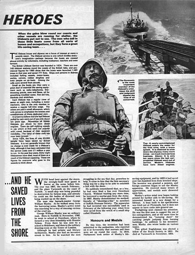 Men Against the Sea: The Spare-Time Heroes -- Lifeboatmen.