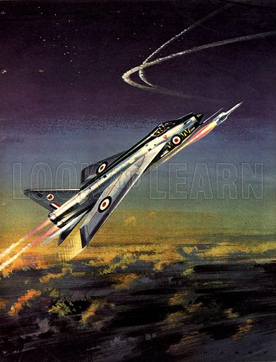 Famous Aircraft and Their Pilots: English Electric Lightning -- Mission 61...Scramble!.