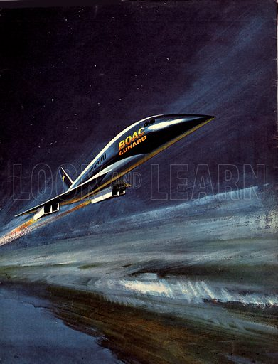Famous Aircraft and Their Pilots: BAC-SUD Concorde -- Flying into the Future!.