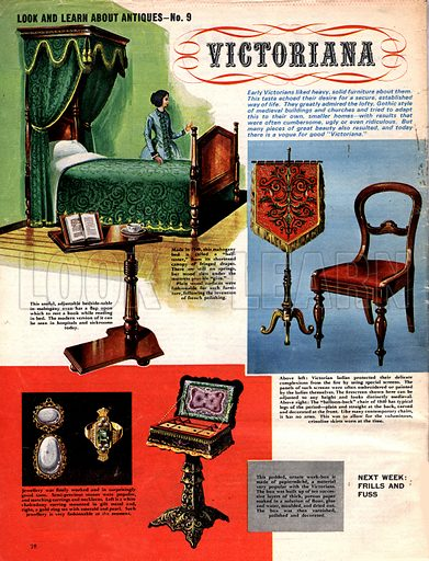 Look and Learn About Antiques: Victoriana.