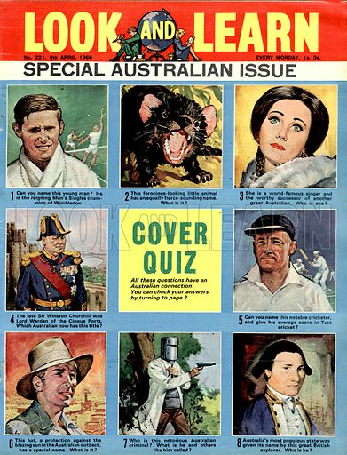 Picture Quiz -- Special Australian Issue.