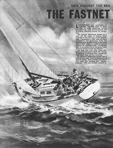 Men Against the Sea: The Fastnet Light.