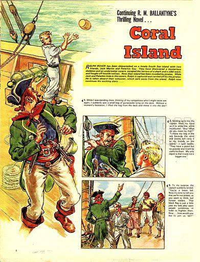 Coral Island, based on the novel by RM Ballantyne.