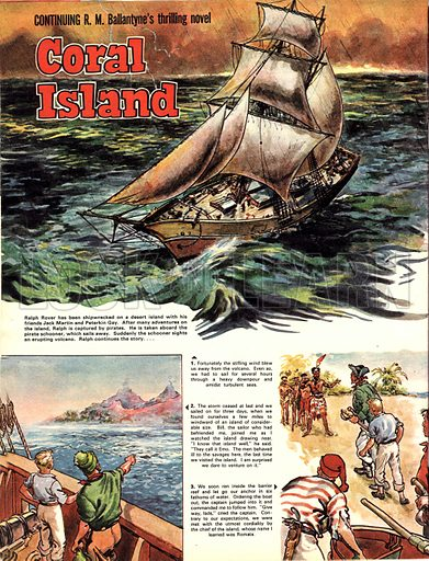 Coral Island, based on the novel by R. M. Ballantyne.