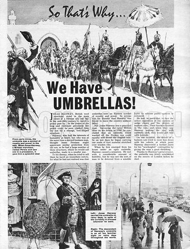 So That's Why We Have Umbrellas!.