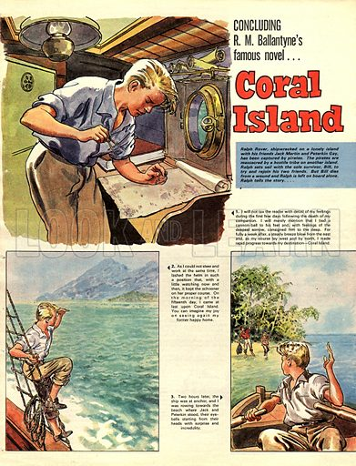 Coral Island, based on the novel by RM Ballantyne.